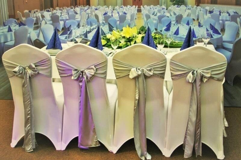 Wedding themes Chair sashes