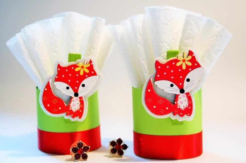 Paper napkin ring ideas for Holidays