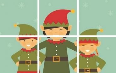 Seasons - Preschoolers Puzzle free printable
