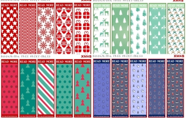 Christmas bookmark - Free printables
