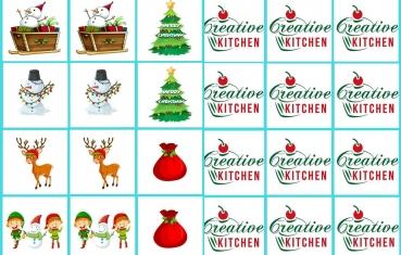 Merry Christmas - Memory game free printable