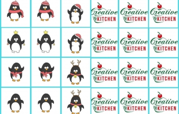 Penguin - Memory game free printable