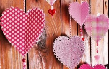 11 paper heart ornaments tutorial