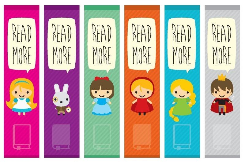 Bookmark - Free printables