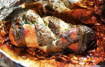 Twisted pork tenderloin