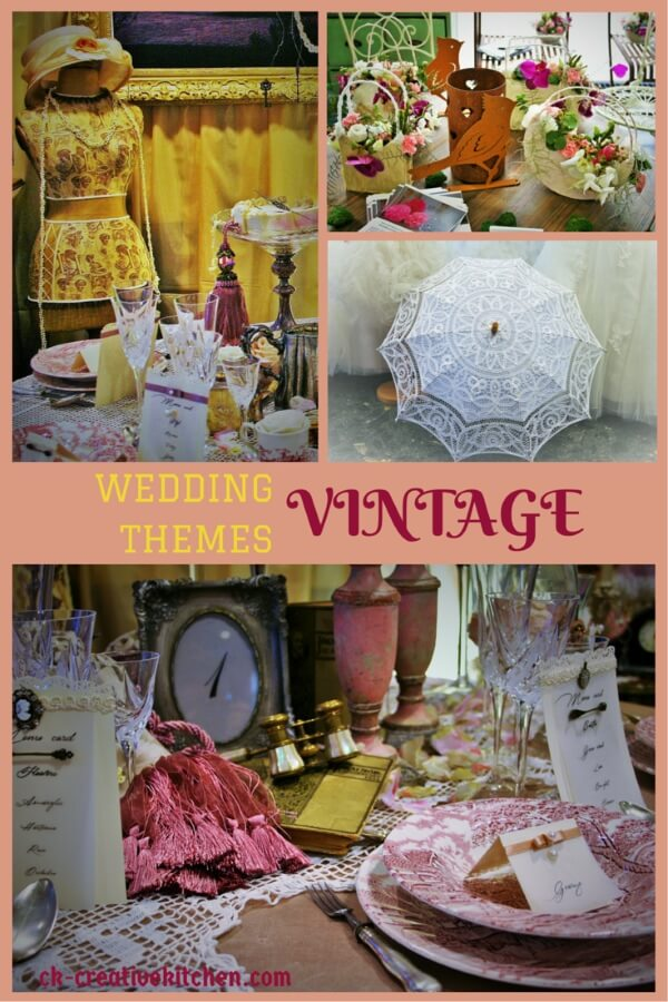 wedding themes vintage