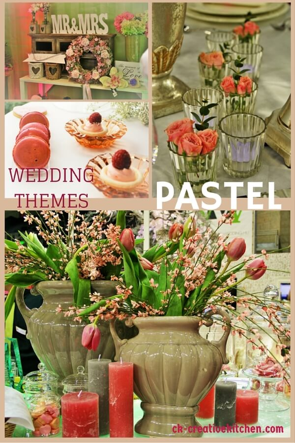wedding theme pastel