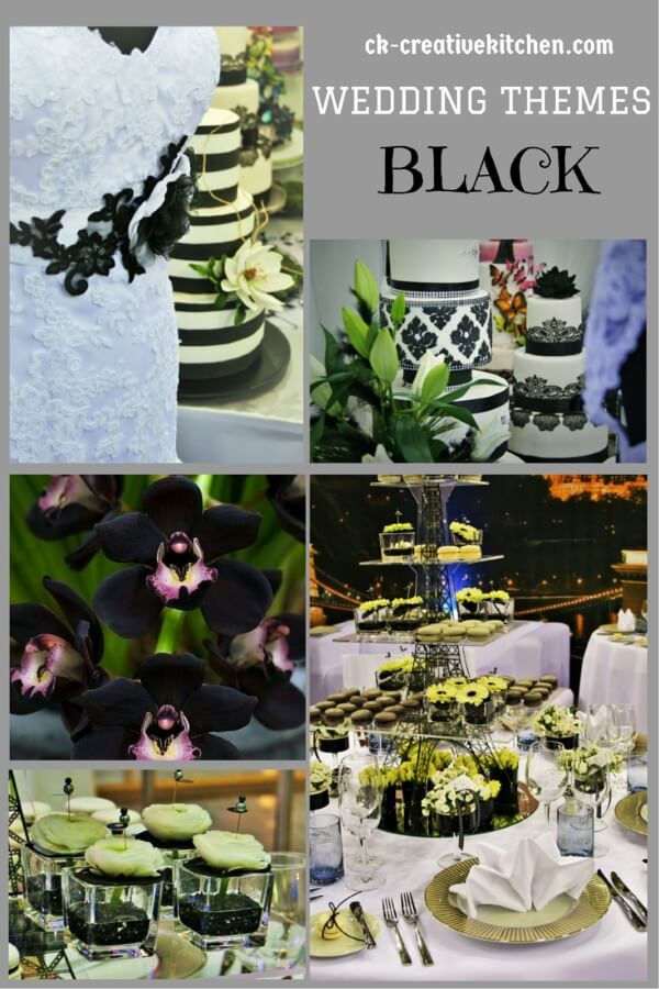 wedding themes black