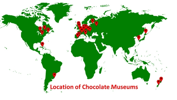 chocolate,museum,map,location
