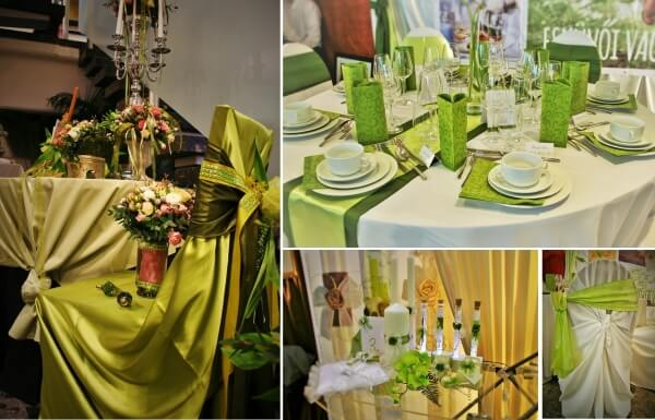 wedding,themes,green,colour