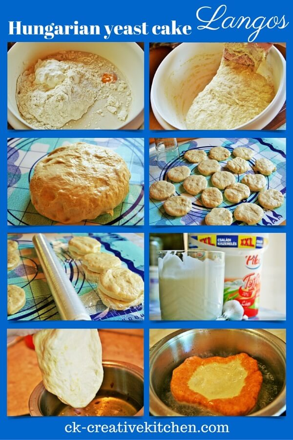 hungarian yeast cake langos how to