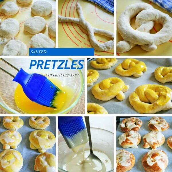 how to make homemade salted pretzles