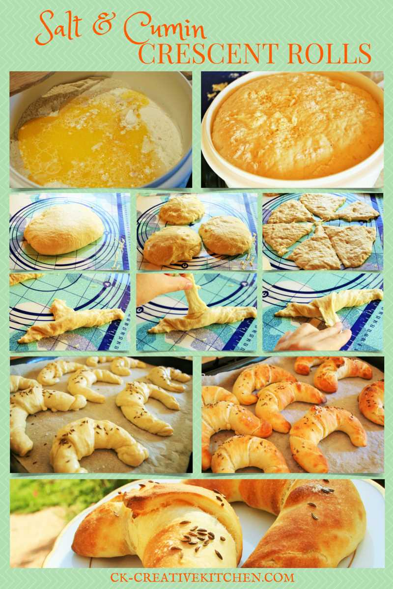 salt,cumin,crescent,bread,roll,pastry,how to