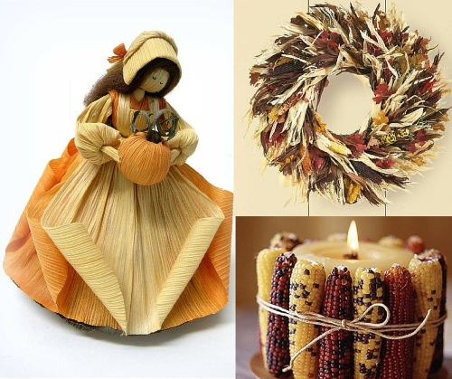 corn husk crafts for decoration