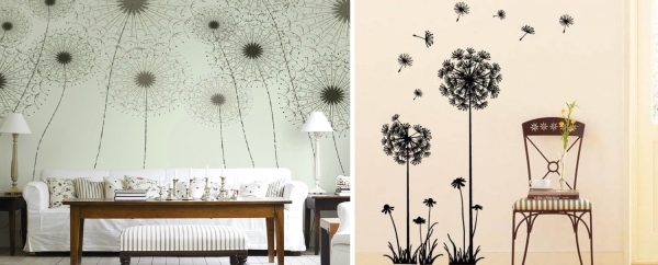 dandelion,decoration,wall,paper