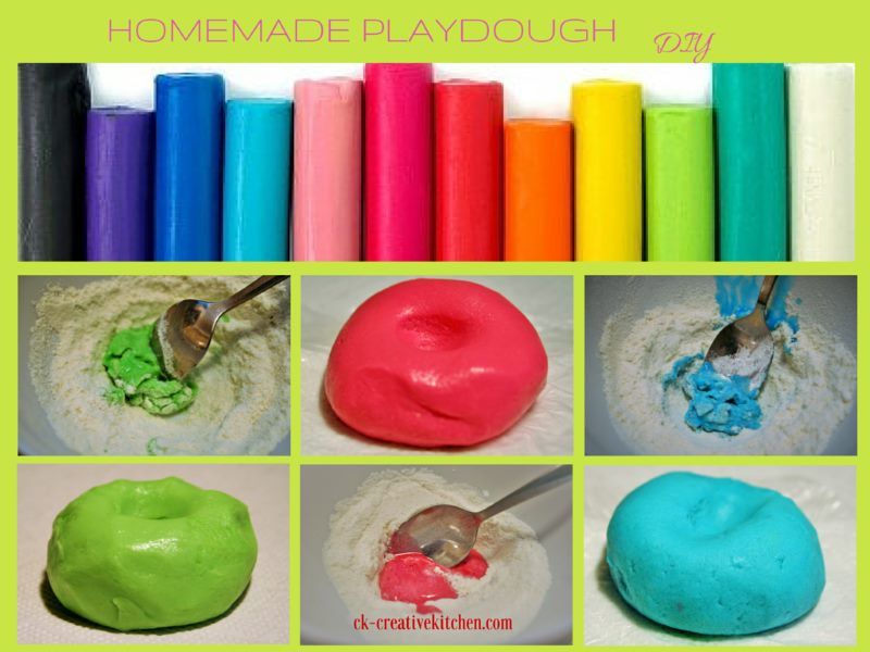 homemade,playdough,how to,diy,plasticine