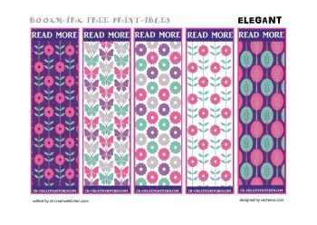 bookmark free printables