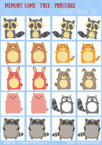 photo relating to Animal Matching Game Printable named Pets - Memory activity free of charge printables - Imaginative Kitchen area