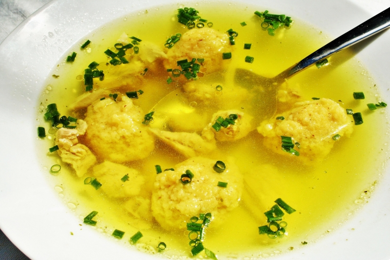 Semolina Dumpling Soup Recipe — Dishmaps