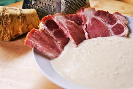 Horseradish creamy sauce