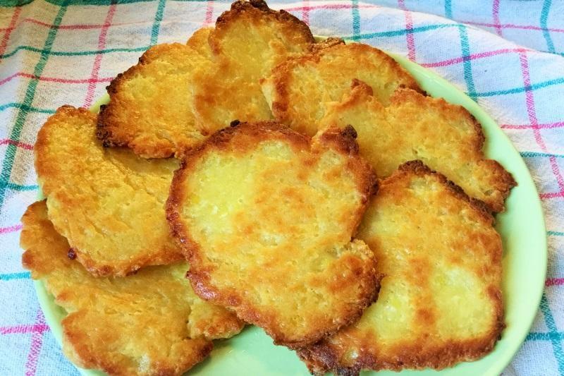 Crispy potato cake - Creative Kitchen