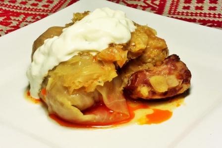 Stuffed cabbage (Toltott kaposzta)