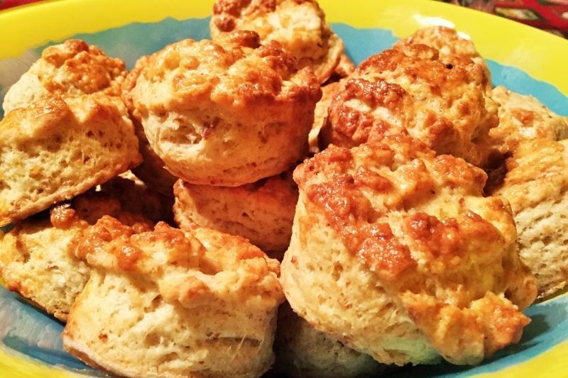 Scone with Pork Cracklings (Tepertos pogacsa)