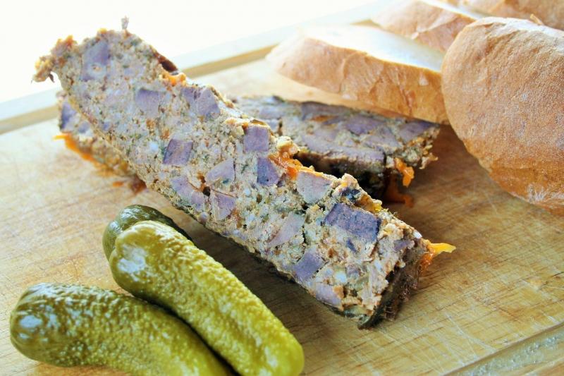 Pork liver terrine