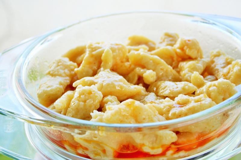 Hungarian dumpling (nokedli)