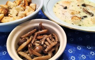 Shimeji mushroom soup