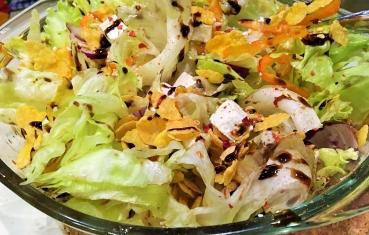 Cornflakes salad