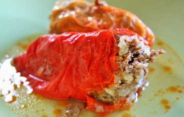 Stuffed paprika