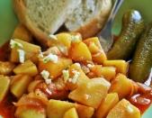 Paprika potato (paprikaskrumpli)