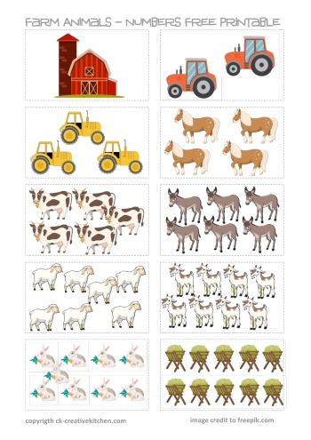 It's just a photo of Free Printable Farm Animals throughout kindergarten